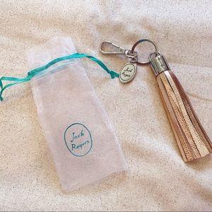 Jack Rogers Tassel Keychain